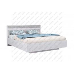 Кровать Бетти 1.6 м анкор светлый/бетон