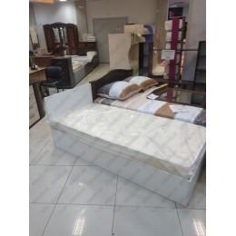 Кровать Стандарт белая  0.9 м