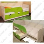 Детская кровать Минима «Лайм»