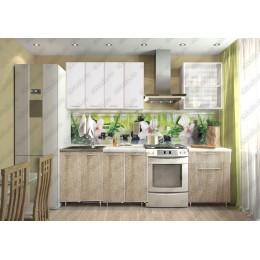 Кухня Радуга 1,8 м белый/сонома