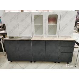 "Кухня ""Палермо""  2,0 м МДФ"